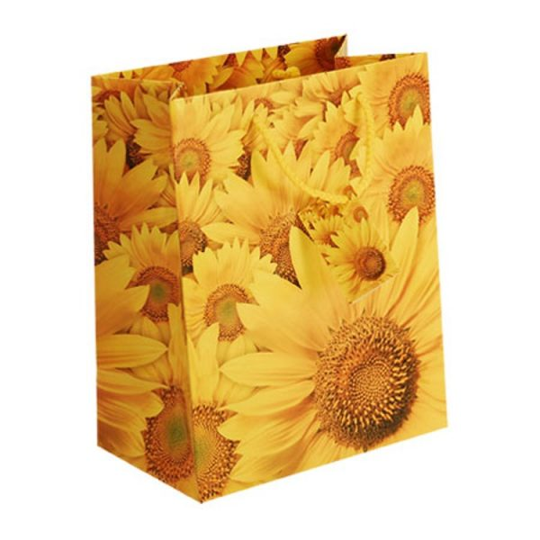 Sunflower Paper Carrier Bag