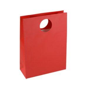 Red Art Paper Handle Bags