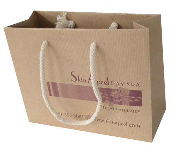 Luxury Paper Shopping Handbag