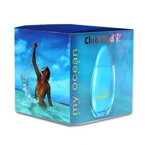 Blue Cube Gift Box