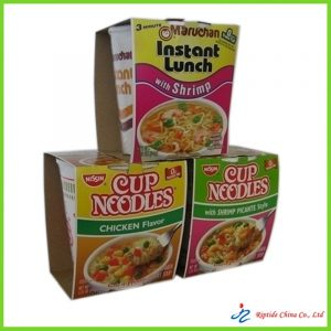 Color Printed Noodle Packing Box