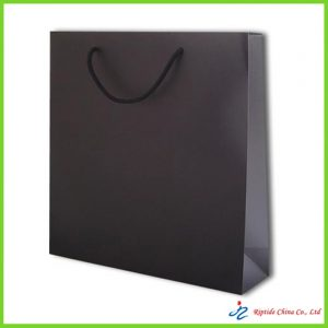 210gsm white card paper bag