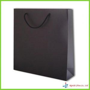 210gsm white card paper bag