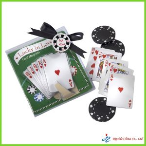 paper promotional playing cards