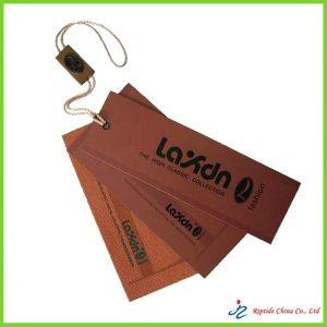 Paper garment tag