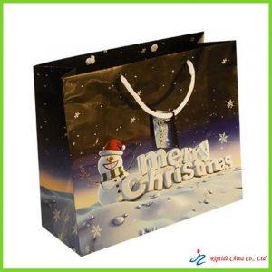 paper christmas bag