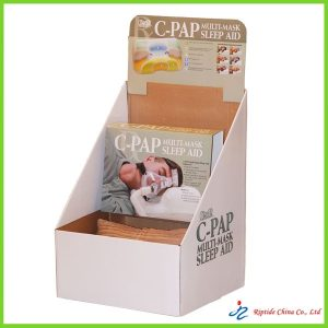 corrugated paper display box
