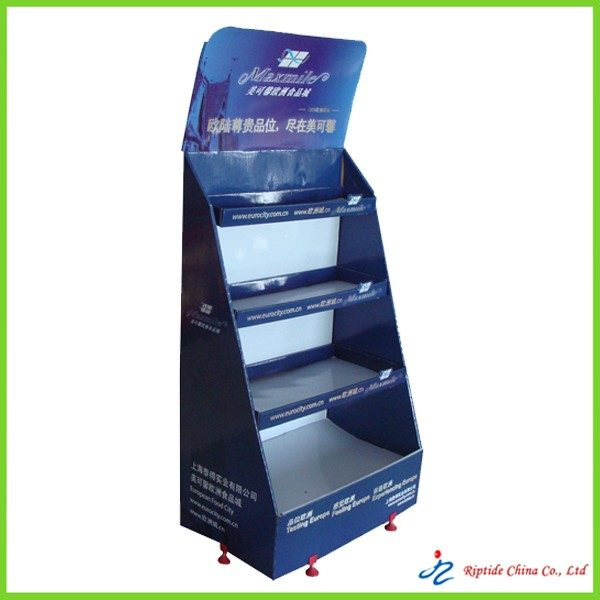 Paper advertising stands