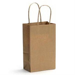 Food Service Kraft Carrier Bags-kraft bag-food bag