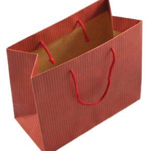 Small Brown Gift Handbag
