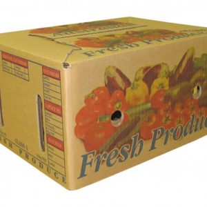 Fruit and Vegetable Unwaxed Corrugated Box