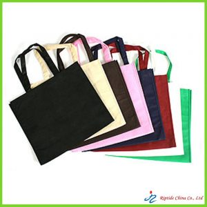 colorful recycled carrier bags