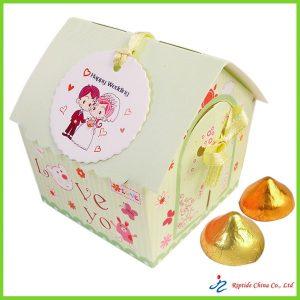 Green Love U Candy Paper Box