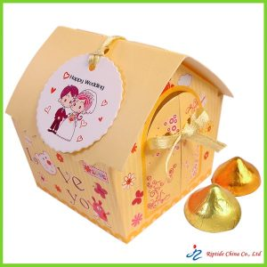 yesllow Candy Paper Box