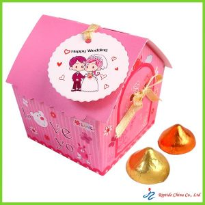 pink Paper Candy Box