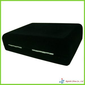 black velvet covered jewelry boxes