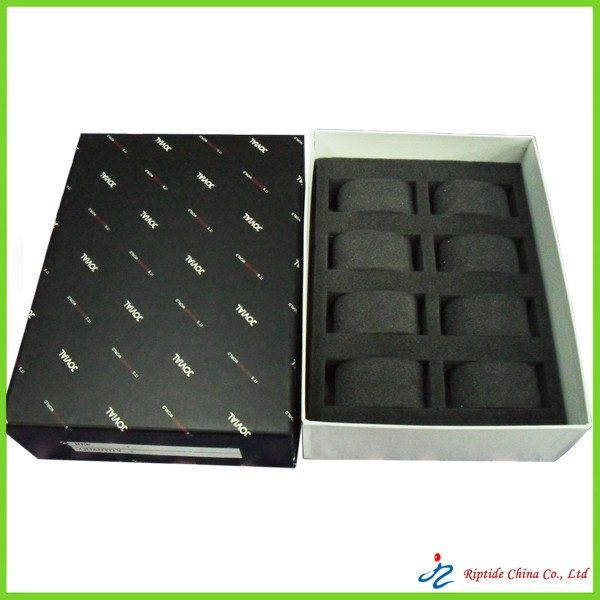 foam lined watch boxes