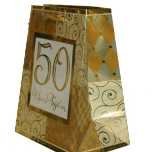 50 years Anniversary Gift bags