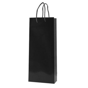 Black Promotional Gift paper Bags