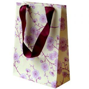 popular flower paper bag