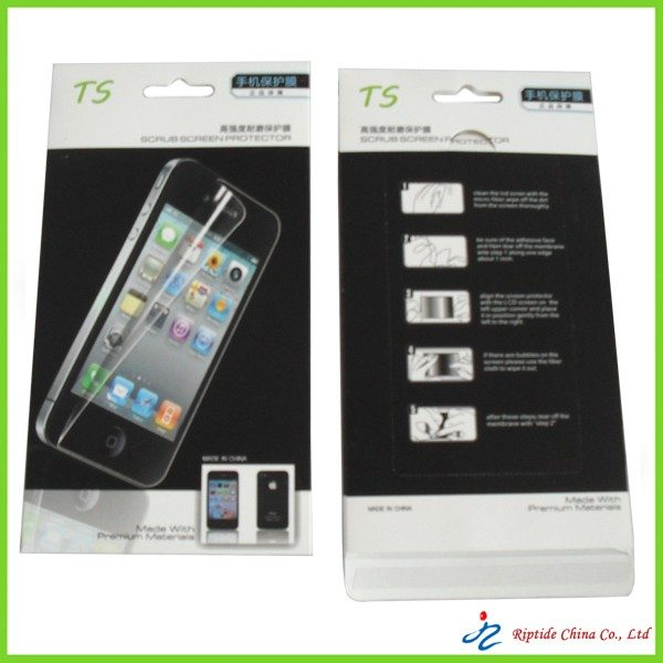 packagings for Iphone screen protector