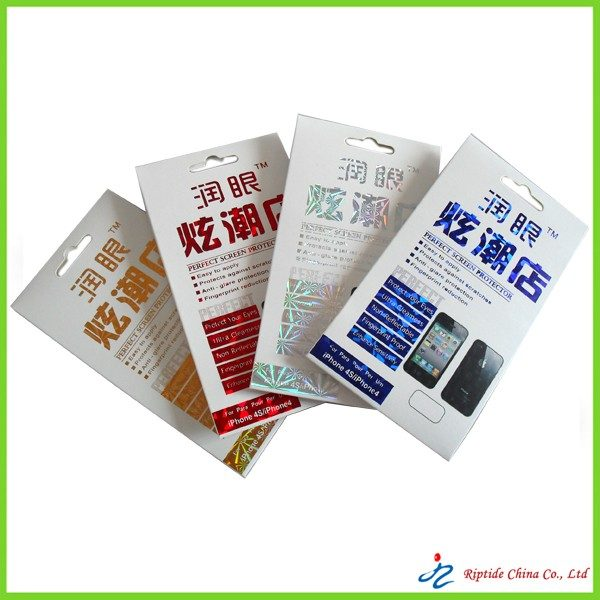 LCD screen protector film packagings