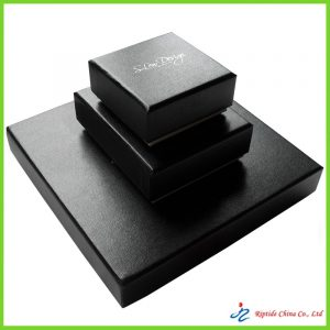 High end Black jewellery boxes