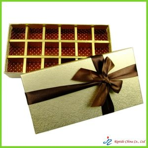 golden chocolate boxes
